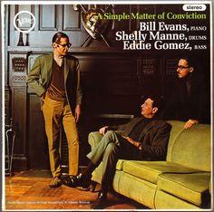 Bill Evans, Shelly Manne, Eddie Gomez. Period.
