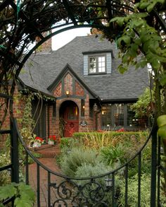 Brick House Beautiful in Portland was built between 1922 and 1923 as a model home for the Standard Brick & Tile Company