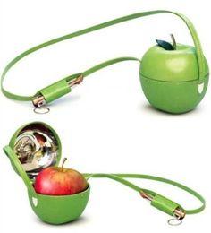 Apple holder.