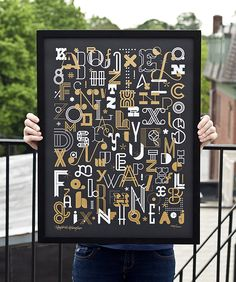 the letters poster by skinny ships 4
