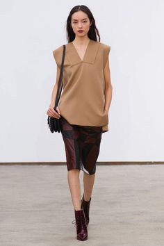 Fashion Week beauty got grapey: Derek Lam lips used an Estee Lauder lacquer called Electric Wine
