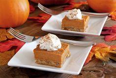 Paleo Pumpkin Pie Bars #PaleoNewbie