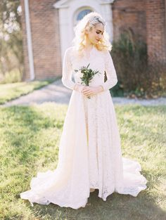 Farmer's Daughter inspired bridal shoot