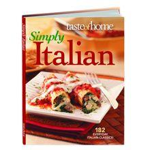 Italian cookbook.