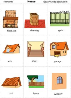 House 2 flashcard