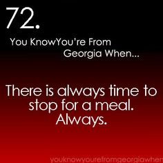 you know you're from GA #72