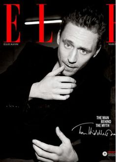 Tom Hiddleston, ELLE, Digital, March 2014.