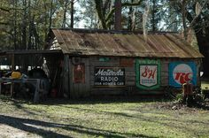 Georgia Barn with great old signs