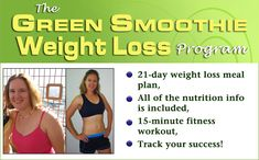 How To Make A Meal Replacement Green Smoothie For Weight Loss