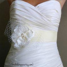 Wedding Sash Bridal Belt