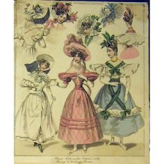 1830 Womens Fashion