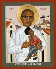 Bishop Oscar Romero was a martyr of the faith and is designated a saint in the Episcopal Church.