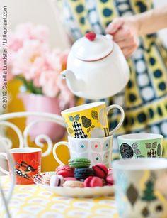 little Pie street - HOME teapot, tea time, cups, afternoon tea, littleph, taza, vintage tea, parti, mugs