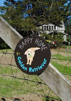 Happy Home of a Golden Retriever