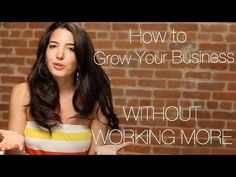 Press play to learn how to grow your business without working more (for real!). Sign up at www.marieforleo.com to never miss one of Marie's videos!
