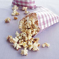 100-Calorie Snacks  | Cinnamon-Sugar Popcorn | MyRecipes.com