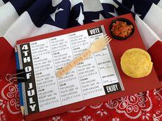 *Rook No. 17: recipes, crafts & creative nesting*: Backyard Chili Cook-off Party and Ballot Board DIY