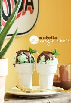 Nutella Magic Shell.  I'm in love.