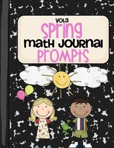 This packet contains 30 cut & paste math journal prompts that are designed to encourage your students to stretch their mathematical thinking! The majority of the spring themed prompts center around Mother's Day, bugs, plants, cold treats,  swimming, the ocean/beach, and the end of the school year! There are a variety of skills covered: addition, subtraction, creating and solving word problems, representing numbers, number combinations, comparing numbers, place value, and more!
