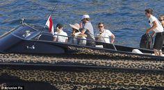 A boat? Realllllly!! Cute!