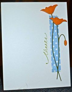 CC373 Thanks by hskelly - Cards and Paper Crafts at Splitcoaststampers