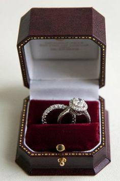 platinum engagement and wedding ring