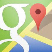 Google Maps :: Die bekannten Google Karten für das iPhone Smartphone