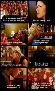 OTH quote. Love this quote!