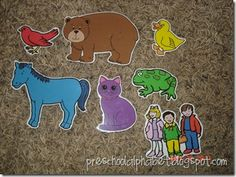 literaci idea, bears, bear clipart, brown bear, preschool