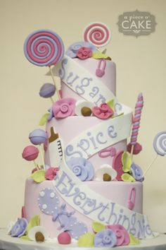 Cake idea for baby shower