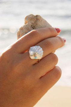 Sterling Silver SeaShell Ring ♥