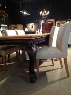 Just arrived at Cornerstone Home Interiors The Ford Dining Table. $1995.00  www.cornerstonefurniture.ca cornerstonefurniture@bellnet.ca