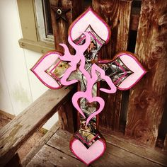 Pink Camo Cross pink camo, browning, master bedrooms, hous, accent colors, crosses, bachelorette gifts, countri girl, wedding gifts
