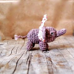 Wee Tiny Elephant by StitchHappens7
