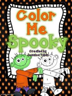 Halloween Coloring Sheets- good for morning work or time fillers