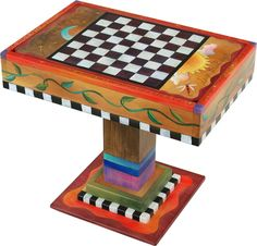 Fliptop Game Table - class art auction idea?