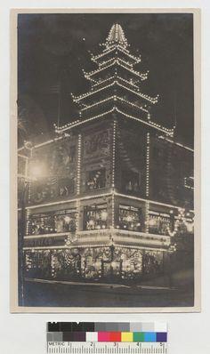 Sing Chong Co. at night, Chinatown (circa 1913)