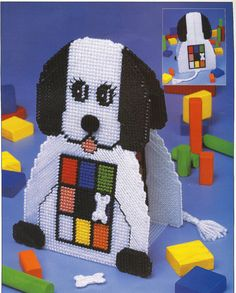 Dog & Bone Game Plastic Canvas Pattern by needlecraftsupershop, $3.50