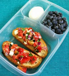 lunch idea, lunch boxes, school lunch, boiled eggs, tomato bruschetta, recip, packed lunches, lunchbox, heirloom tomatoes