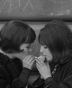 Anna Karina in Vivre sa vie (1962, dir. Jean-Luc Godard)