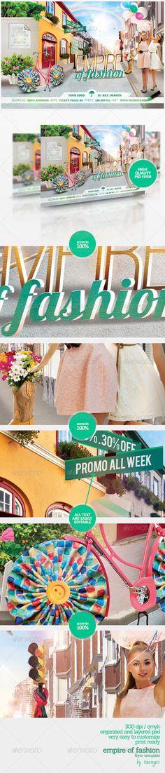 fashion flyer, flyer templat, flyer print, print templat