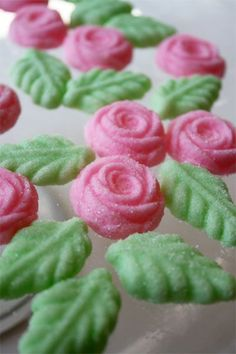 Cream Cheese Mints Roses
