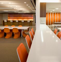 Archinect's Employer of the Day: Weekly Round-Up | Saatchi & Saatchi office designed by Shubin + Donaldson Architects. Photo: Tom Bonner | Archinect