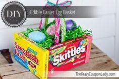 DIY Edible Easter Egg Basket!