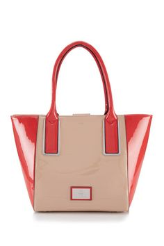 Coral Juno Shopper Bag - just the accessory to go with the coral dress!