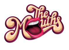 Nestlé Drumstick – The Mouths ID by Luke Lucas #typography
