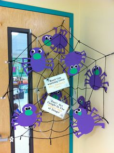 Just Say No decorating contest halloween decorations, the doors, spider webs, halloween themes, decorating ideas, door decorating, kindergarten writing, red ribbon week, second grade