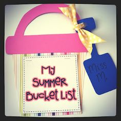 this summer I want to...