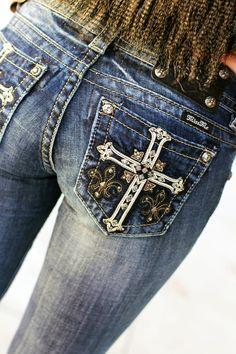New Miss Me Jeans in stock!!! LOOOOOVE!