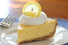 Lemon Ice Box Pie  from Saving room for dessert by Tricia